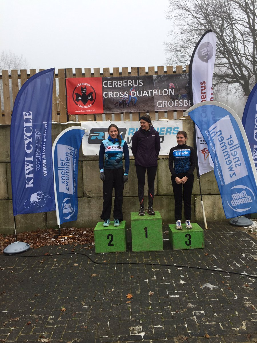 test Twitter Media - Podium dames senioren Cerberus Cross Duathlon korte afstand https://t.co/JUsbyMCSwT