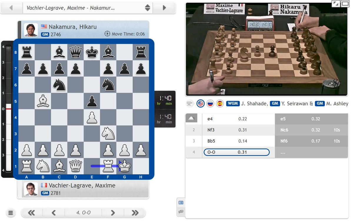 "test Twitter Media - The last classical games of the 2018 #GrandChessTour have started, with Nakamura playing AlphaZero's ""best by test"" Berlin: https://t.co/dO05MuL8dT #c24live #LondonChessClassic https://t.co/6kt6oO4lJC"