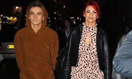 Strictly's Dianne Buswell adds fuel to romance rumours with gushing post about her Joe