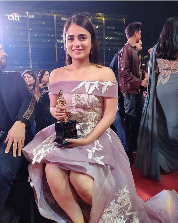 RT @isalilsand: #RadhikaMadan at the #StarScreenAwards2018. #StarScreenAwards https://t.co/T4fIG4KCjl