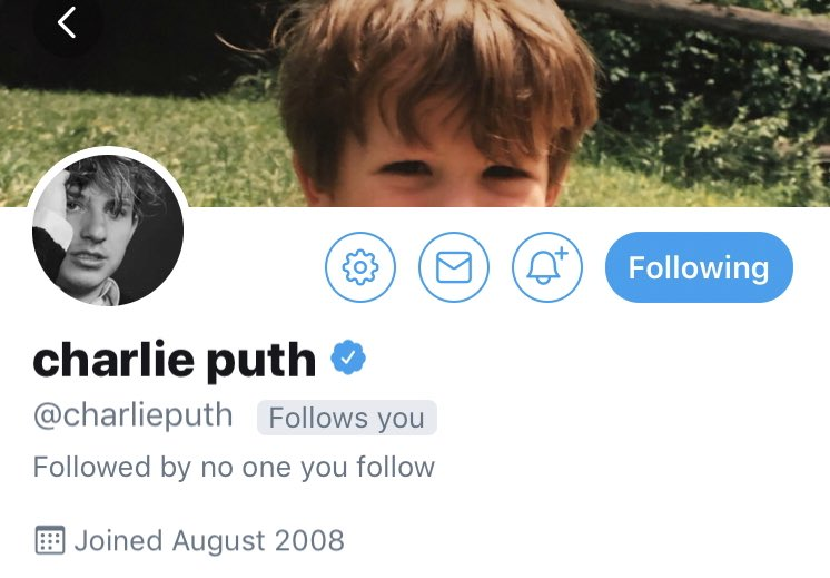 trading a charlie puth follow dm me #ratszone https://t.co/G6P7o8W373