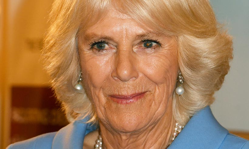 The Duchess of Cornwall channels Jackie O in the most stunning pastel coat