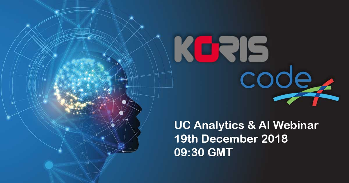 test Twitter Media - Are you joining us & @codesoftwareltd on Wednesday to talk all things #AI and #UC Analytics?  Check out the agenda & register here: https://t.co/3PB4C56ggo #bots #ArtificialIntelligence https://t.co/FOOuuJBLyX