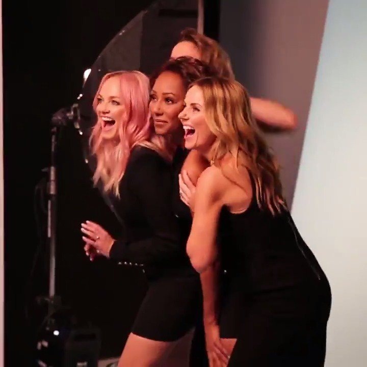 RT @spicegirls: Soooo here's the story from A-Z ✌???? Behind the scenes ???? @madison__phipps https://t.co/BUsekyav0o