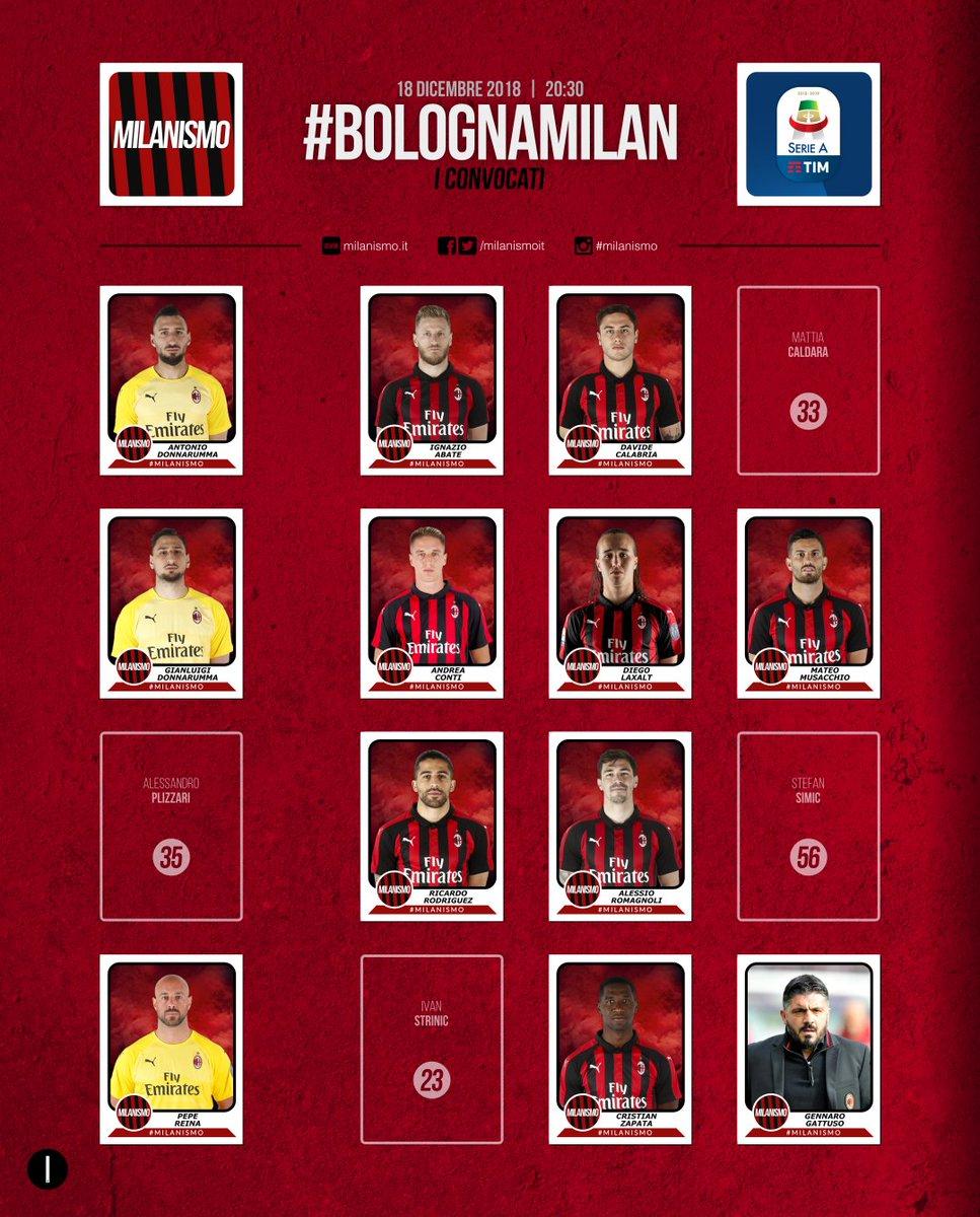 #BolognaMilan