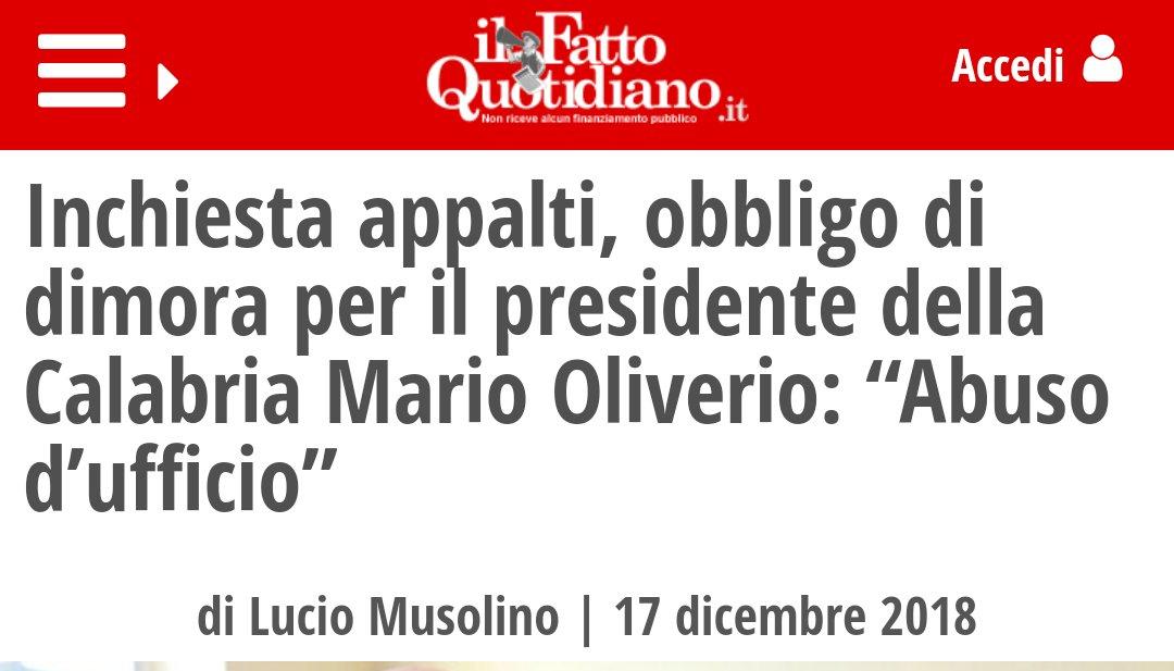 #Oliverio