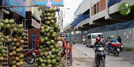 test Twitter Media - This drink shop gets into the Christmas spirit taking extra coconuts to fashion a tree for customers. Please pray that many Vietnamese will ask their believing friends, neighbors and co-workers, what Christmas means.  Pray for open hearts to the Gospel. #pray4vietnam https://t.co/1v7E8OQ7PR