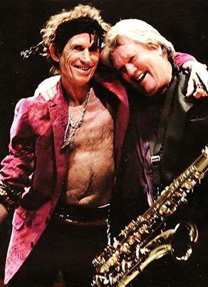 Keith Richards & Bobby Keys  Happy Birthday