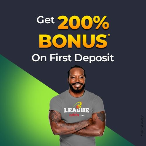 test Twitter Media - Bash Before the Big Bash. Get the maximum out of your first deposit on LeagueAdda. Get 200% Bonus on First Deposit. Deposit Now and create your team for Big Bash: https://t.co/FDhKuau8XH #FantasySports #FantasyCricket #LeagueAdda https://t.co/uXmXcFRA3w