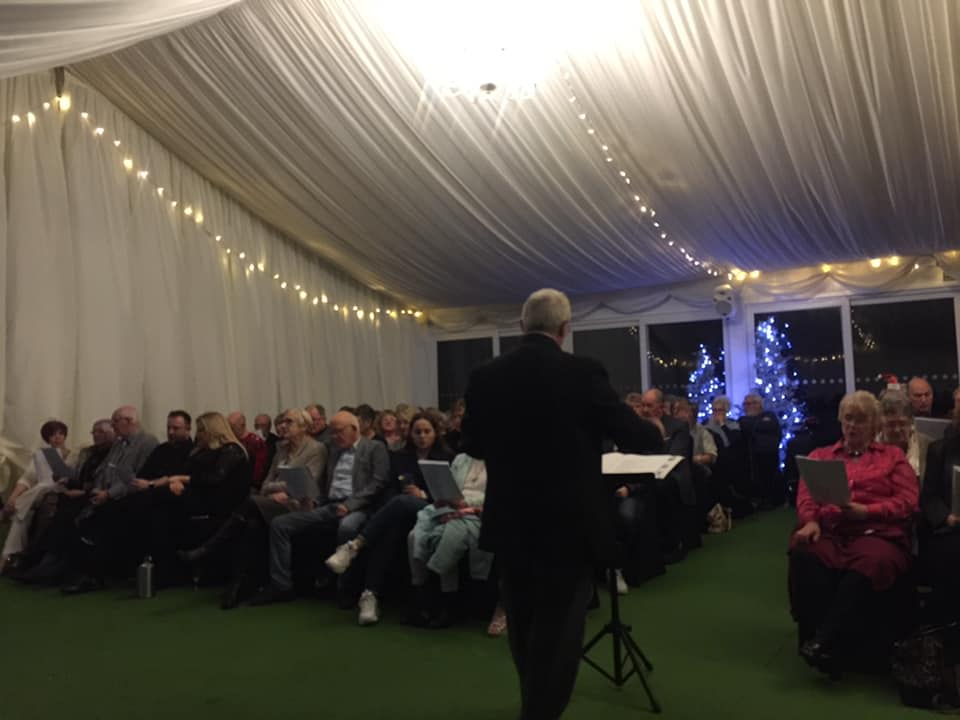 test Twitter Media - A BIG Thank you to Cambrian Male Voice Choir - Tonypandy for putting on such a special performance and for bringing the Christmas festivity to Cottrell Park on Sunday 16th December💫  We cant wait to do it all again next Christmas. 🎄🎅 . #christmas #cottrellpark #choir #festive https://t.co/VNKGnJDbnY