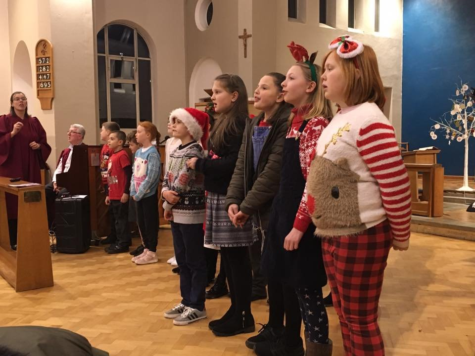 test Twitter Media - Choir sang beautifully at Immanuel's Carol Service last night. As ever, they made us very proud! https://t.co/J3HNzmeaXv