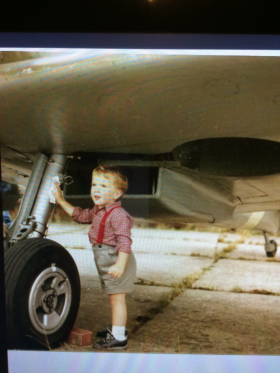 test Twitter Media - This confirms just how long ML407 has been attended to by Richard Grace he is two years old here cleaning our family Spitfire at Fighter Meet at West Maling - now look at the film in my earlier tweet-puts it into perspective! https://t.co/kenaCOz1f2