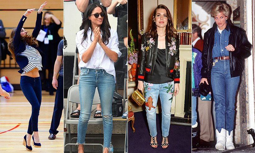 When royals wear jeans – see Kate, Meghan and others rocking off-duty denim...
