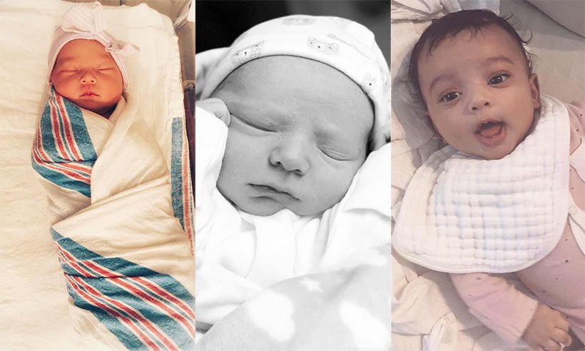 A look at all the celebrity babies born in 2018 - see gallery: