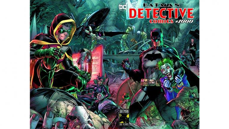 DC reveals creative talent behind 'Detective Comics' No. 1000