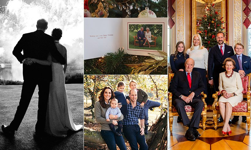 See the Christmas cards the royal families have sent this year... Which is your favourite?