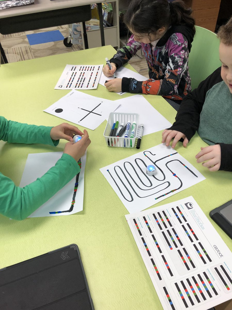 test Twitter Media - #12daysofD30 Day 10: Students used @Ozobot today for technology in the classroom! #d30learns @WescottLMC @wescott4Mu https://t.co/P6ZVwjVy0q