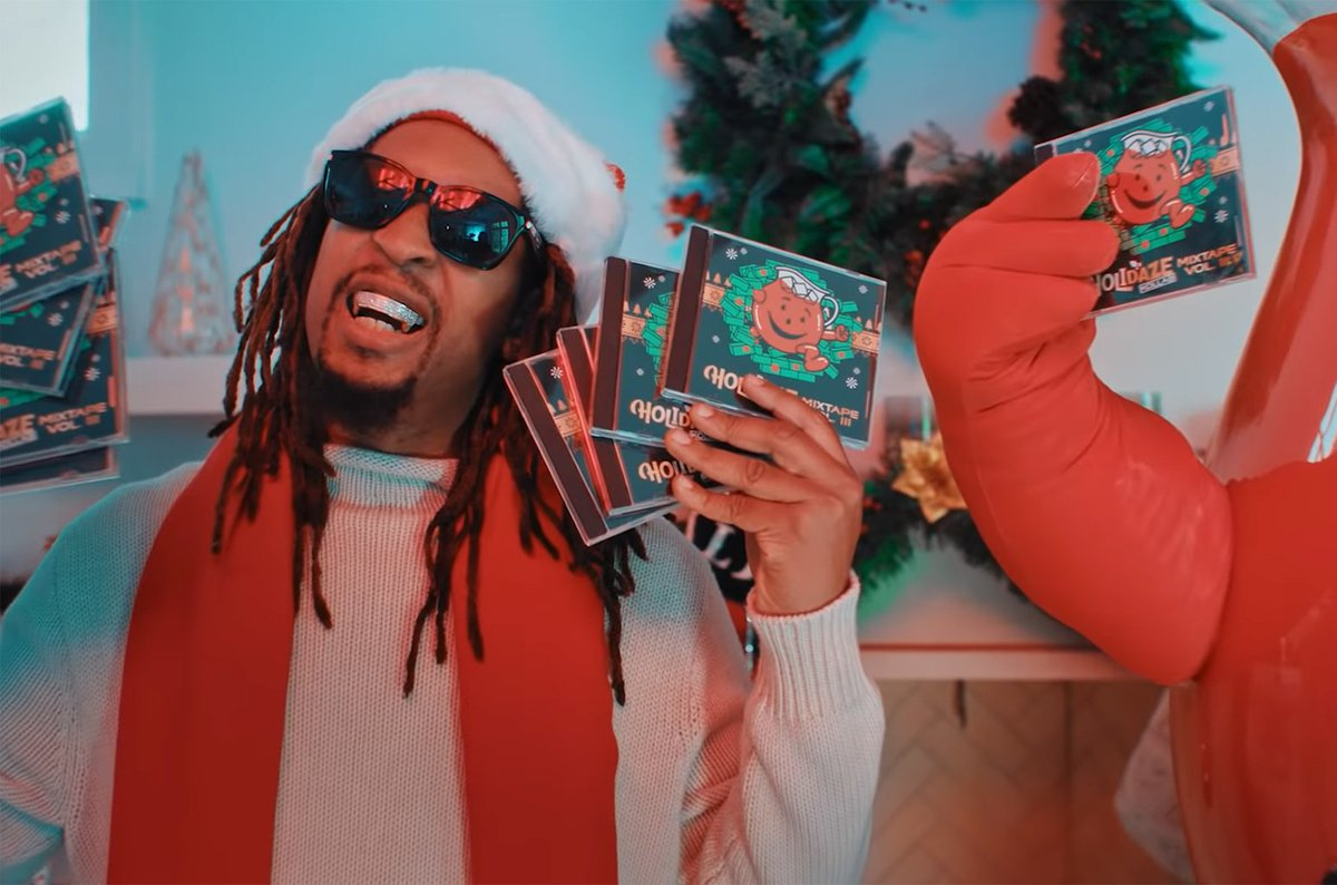 RT @billboard: .@LilJon made the greatest Christmas song of all time with the Kool-Aid Man https://t.co/rjFF9H4wCh https://t.co/KB3QOzGJqj