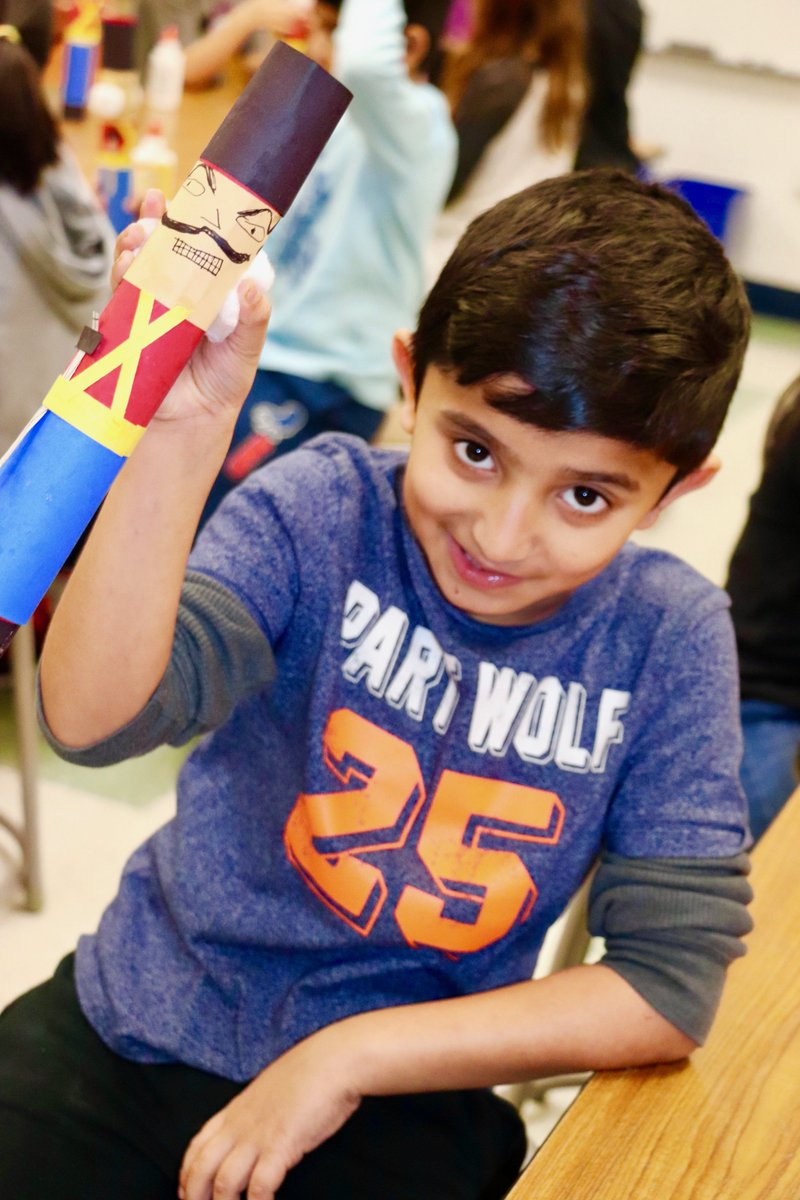 test Twitter Media - Wescott second graders enjoyed making Nutcracker dolls during Tia Steven's art class! #d30learns https://t.co/TO9Ripd9TV https://t.co/UAT4UzQ5RR