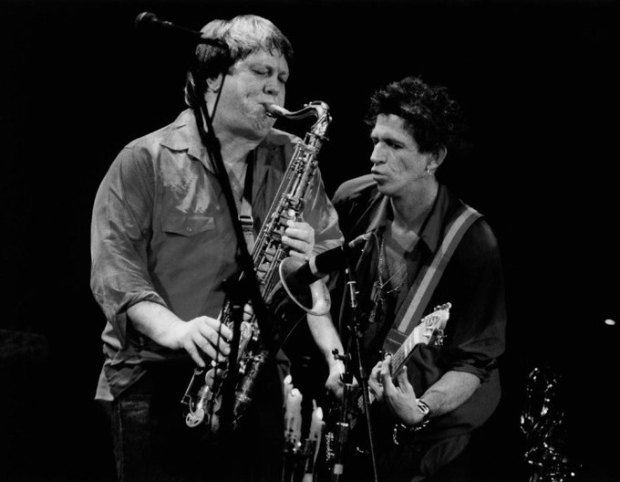 Happy 75th birthday to Keith Richards and what would of been his 75th to the late great Bobby Keys.