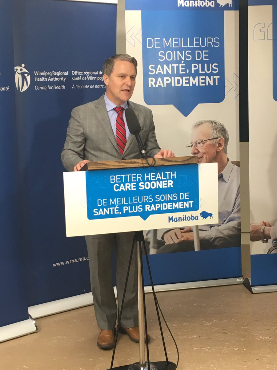test Twitter Media - Happy to announce the consolidated Community Intravenous program at Misericordia Health Centre today. This move will bring together an inter-professional team of infectious disease doctors, nurses, pharmacists & admin staff to better care for clients in one place. #mbpoli https://t.co/OrxW3oSIOr