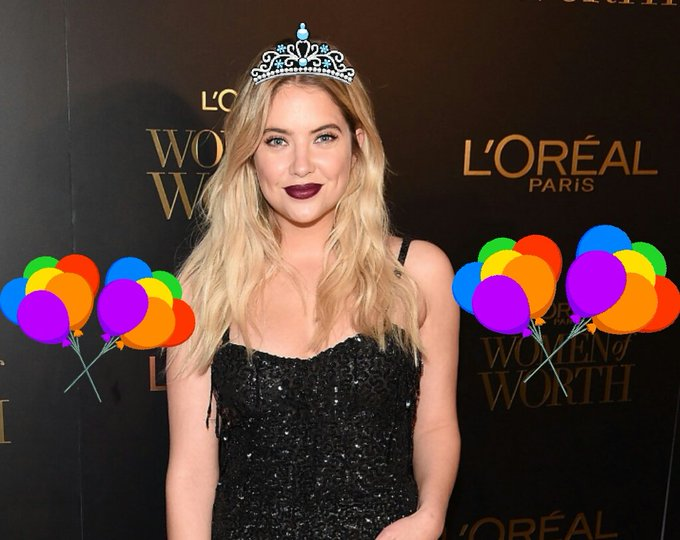 Happy birthday to The Talented The Prefect and The beautiful ASHLEY BENSON