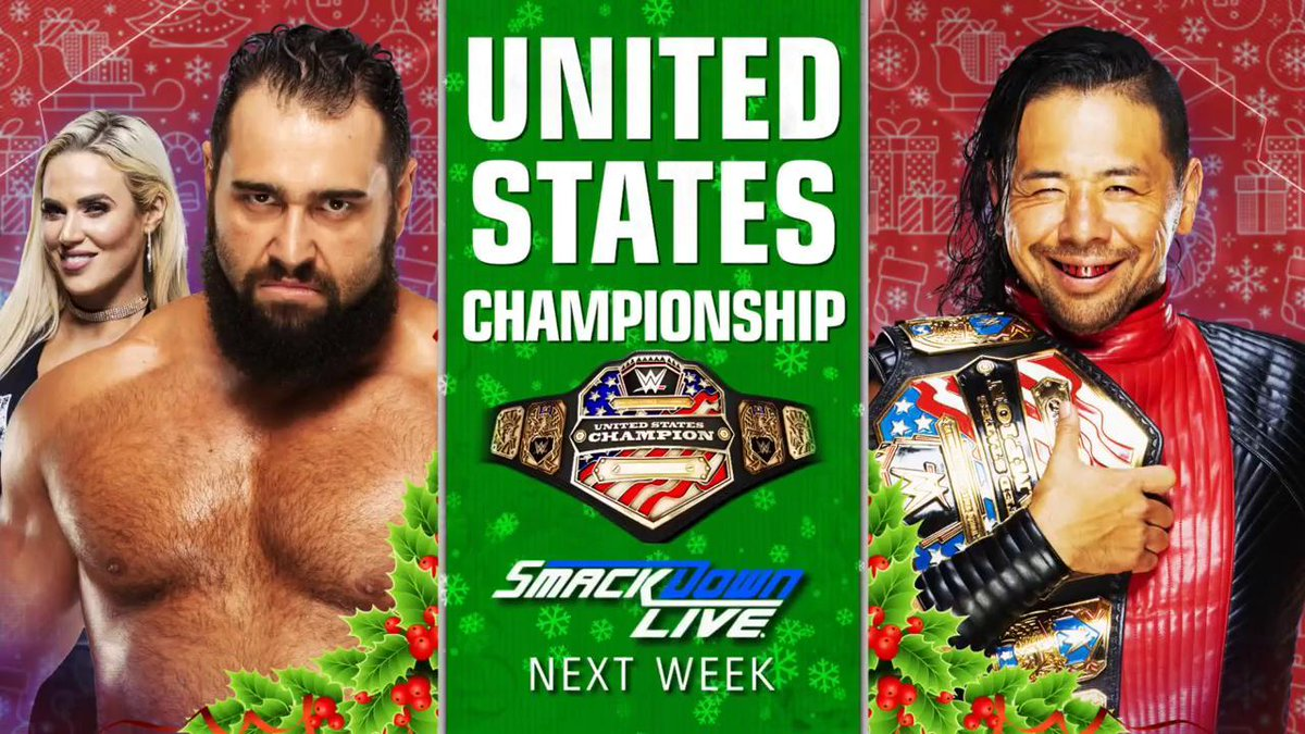 RT @WWE: ALSO NEXT WEEK: @RusevBUL challenges @ShinsukeN for the #USTitle on #SDLive! @LanaWWE https://t.co/AJ4iUfFff0
