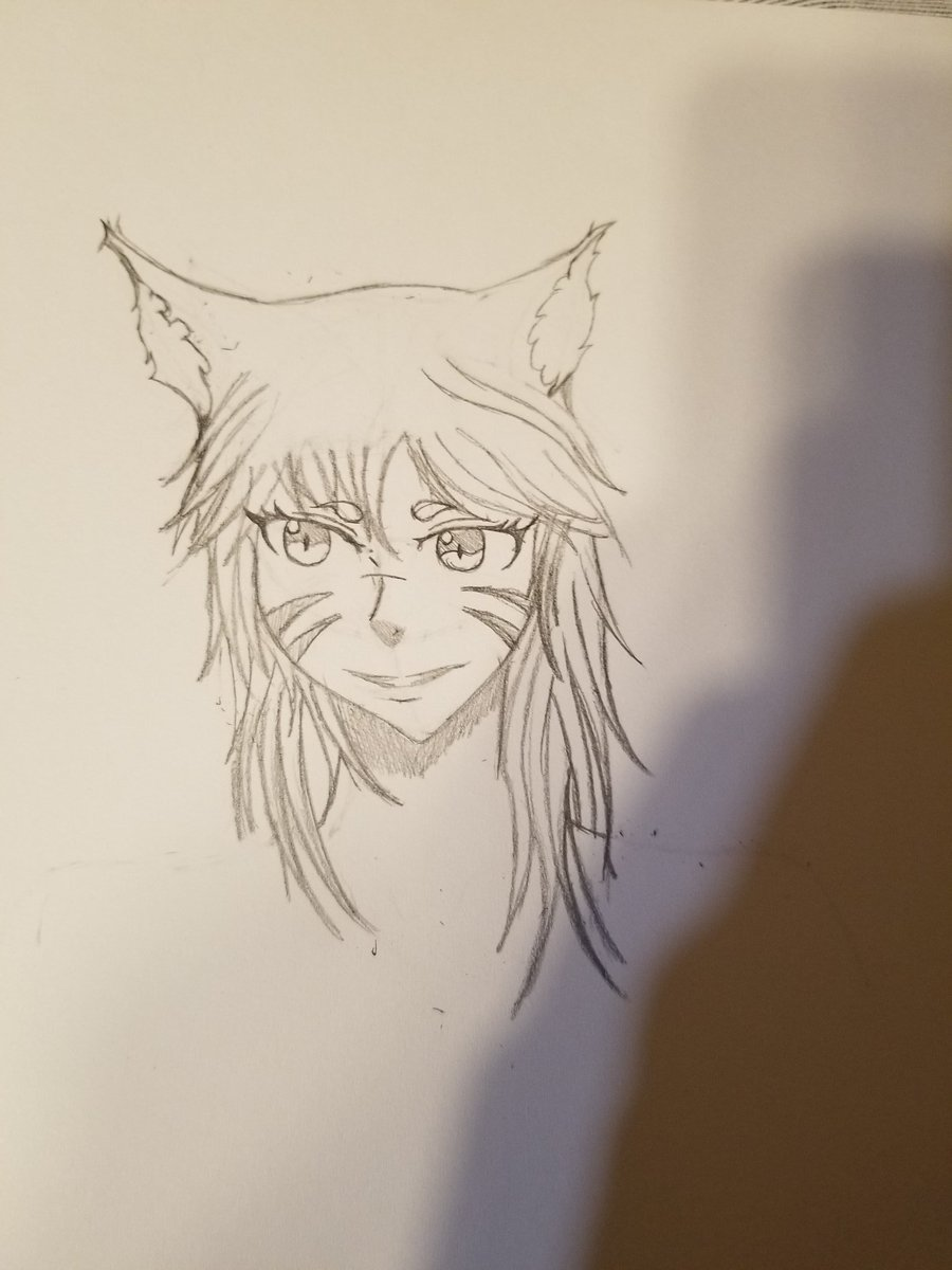 test Twitter Media - Pre-work doodle of my FFXIV character. Very stressful, drawing again. https://t.co/0ZE4o358b8