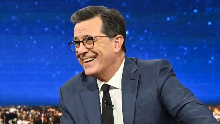 Stephen Colbert mocks Leslie Moonves over loss of $120 million severance