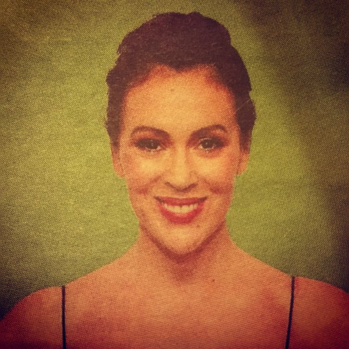 "Happy birthday Alyssa Milano from ""Who\s The Boss \"". Sam is now the boss."