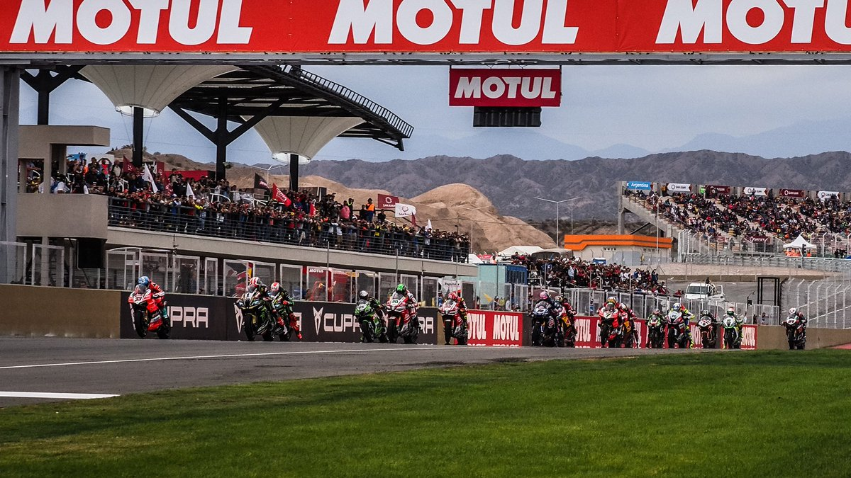 test Twitter Media - #WorldSBK debuts in Argentina around stunning Circuito San Juan Villicum 🇦🇷  Find out what happened on the debut SBK® race  📃| #WorldSBK https://t.co/08VLabATNl https://t.co/m8mkFO97xM