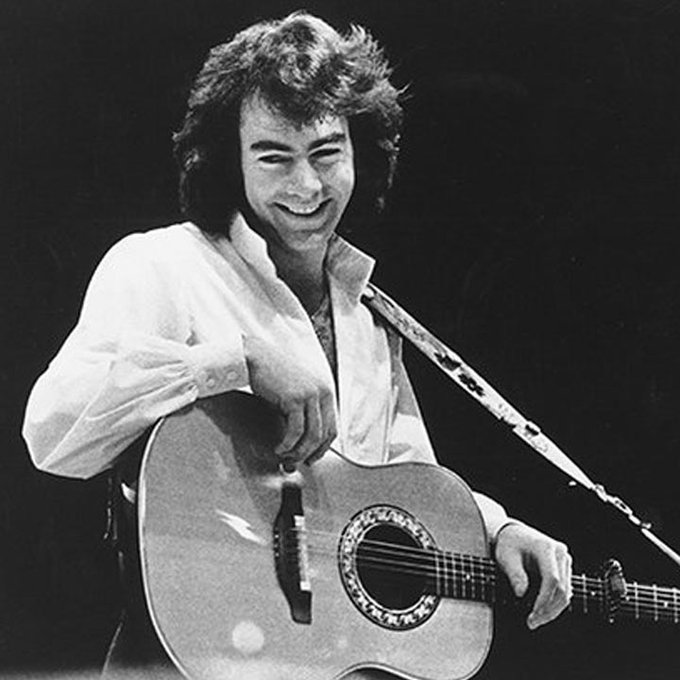"""Sweet Caroline, good times never seemed so good\"" Happy Birthday Neil Diamond"