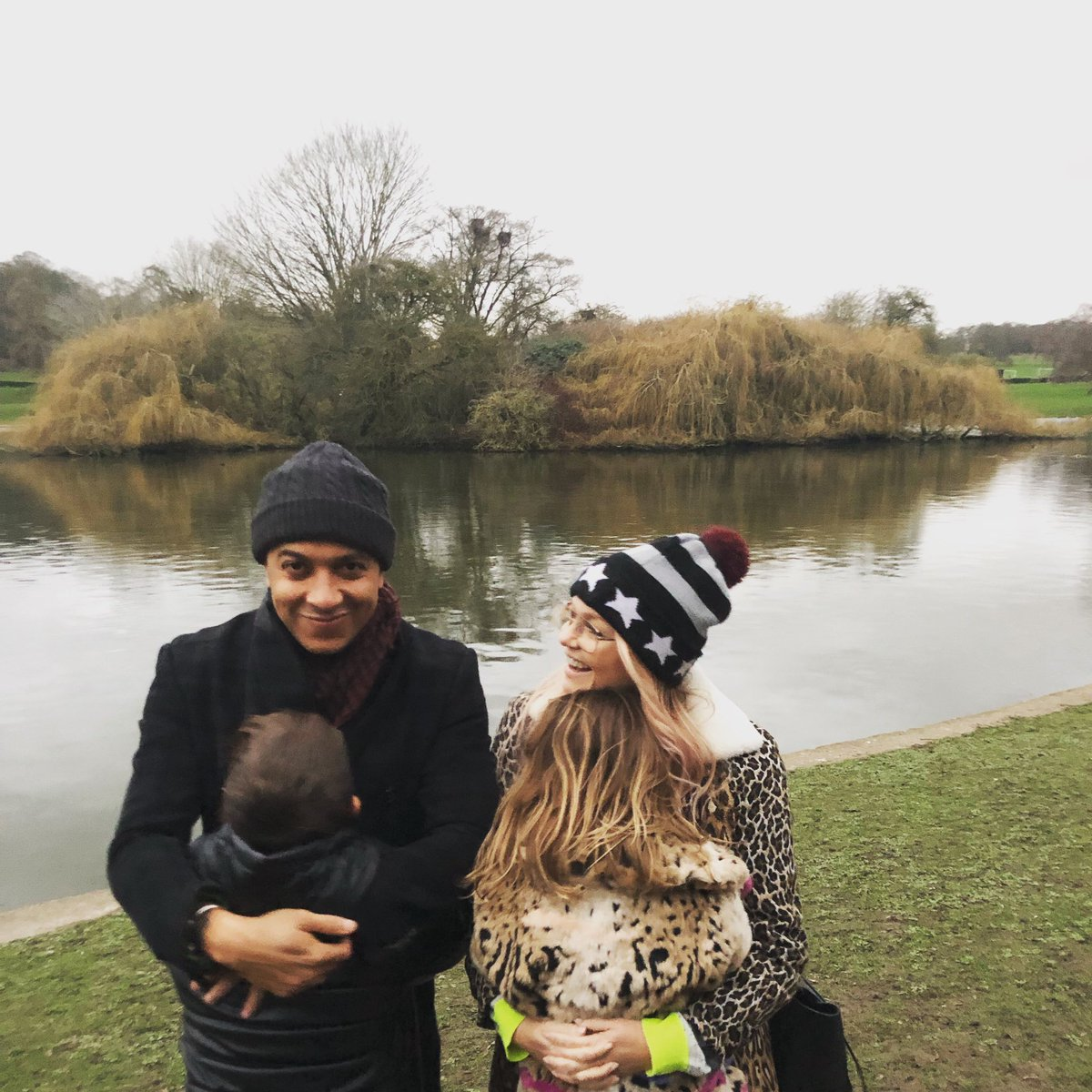 Our New Year's Day tradition #walkinthepark  Happy New Year from us! ???? https://t.co/rFpw7H70P3