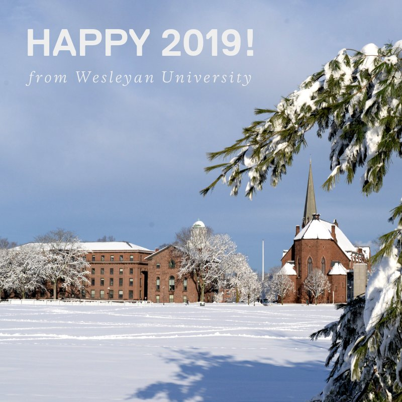 test Twitter Media - Happy 2019 from Wesleyan University!  Psst: today's the application deadline to attend Wesleyan this fall.  Learn more + apply here: https://t.co/i3Bslihsw6 https://t.co/MEcwu0fONm