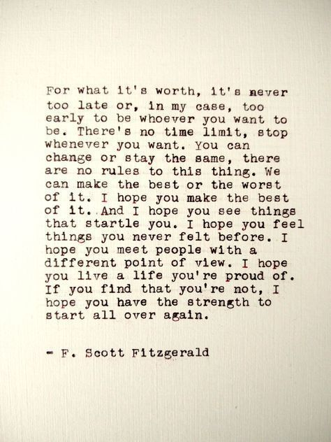 """Perfect New Year's Day thoughts from the pages of F. Scott Fitzgerald's """"The Curious Case of Benjamin Button"""" https://t.co/DaB8TPSBok"""