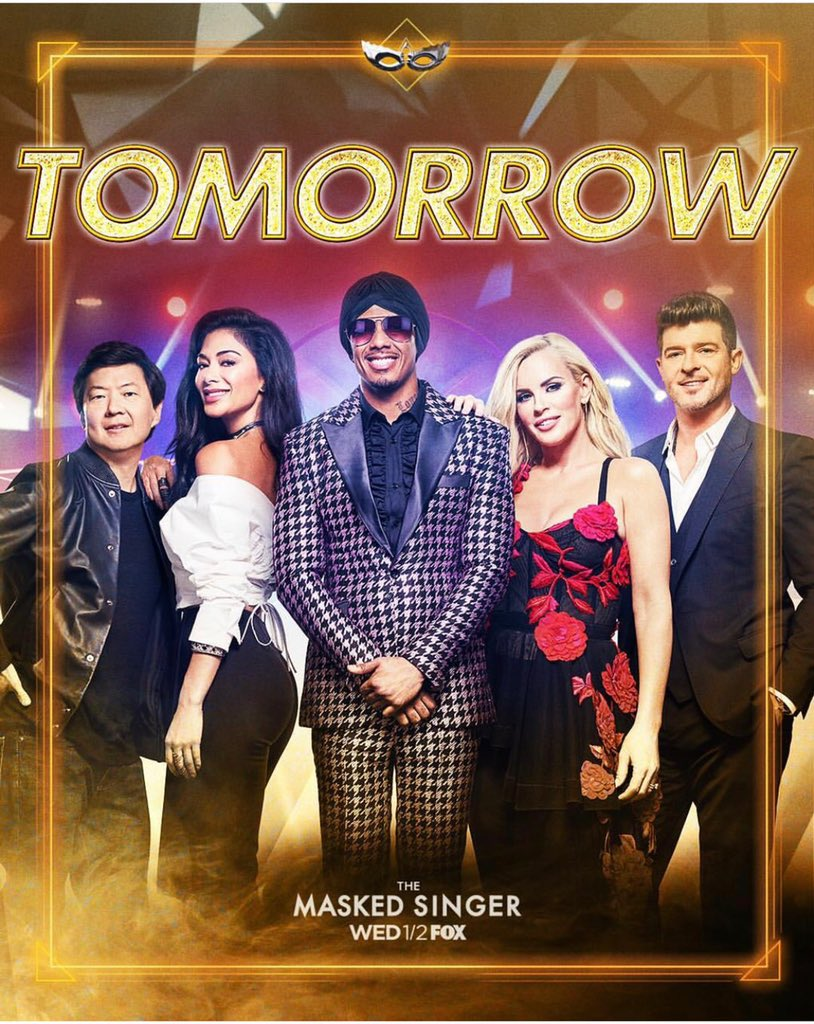 Tomorrow night check out @MaskedSingerFOX featuring my sister-in-law #JennyMcCarthyWahlberg — all in the family! https://t.co/YRlBsWc14s