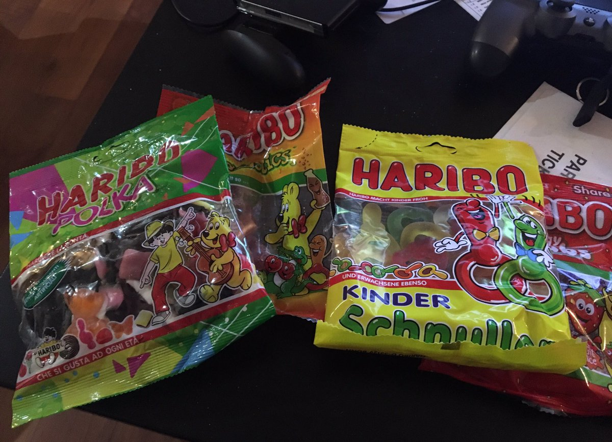 I'm home and I have rare Haribos https://t.co/CZBYPCNCAP