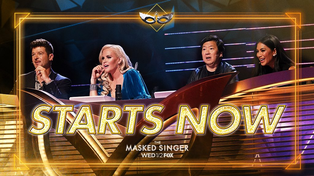 Alright West Coast - Here we go! Tune into @FOXTV now for #TheMaskedSinger!! https://t.co/Cida0BilE3