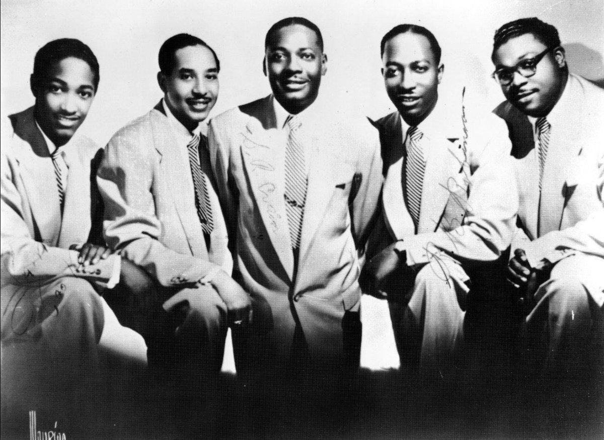 Sam Cooke and the Soul Stirrers. My favorite band of all time.   ???? Tell me yours in the comments below ???? https://t.co/vMkCpJiKtF