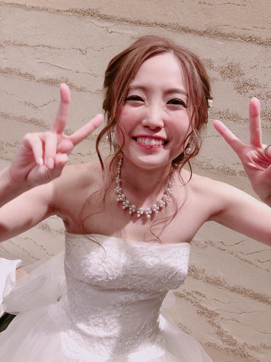 元SKE古川愛李の結婚式の写真キタ━━━━━━(゚∀゚)━━━━━━!!!!