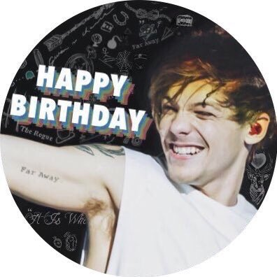 ·  Happy Birthday Louis:)  I love u  ·
