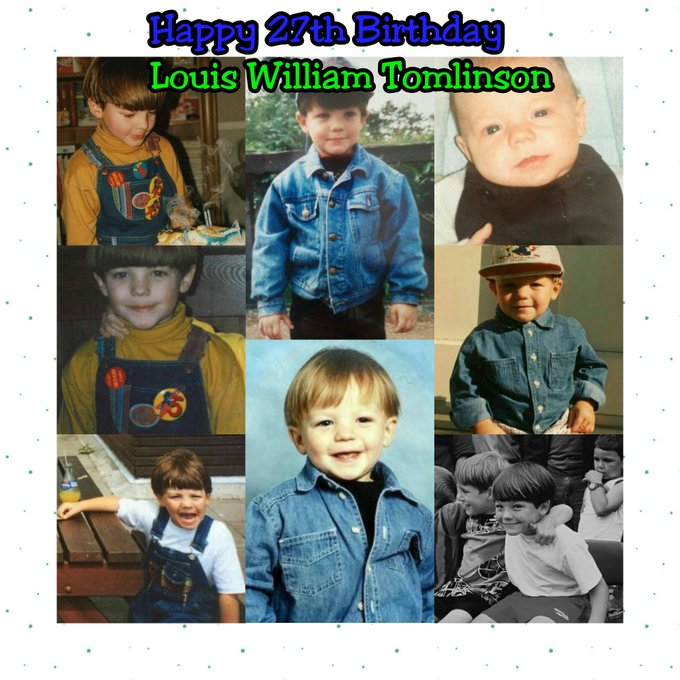 Happy Birthday Louis Tomlinson