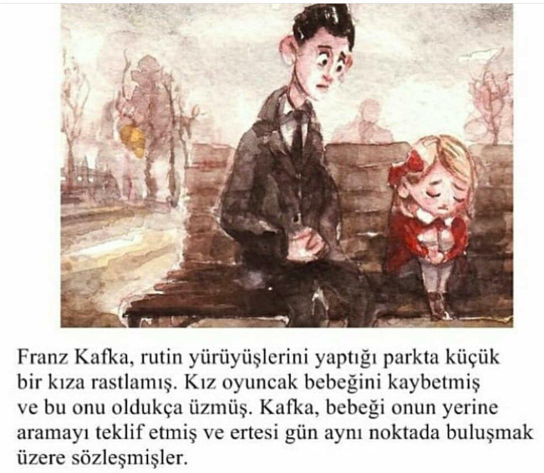 Franz Kafka ve bir çocuğun müthiş hikayesi. https://t.co/LDqxqJTWty