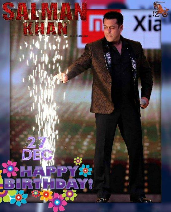 2 DAYS LEFT! HAPPY BIRTHDAY! THE BEST SALMAN KHAN!