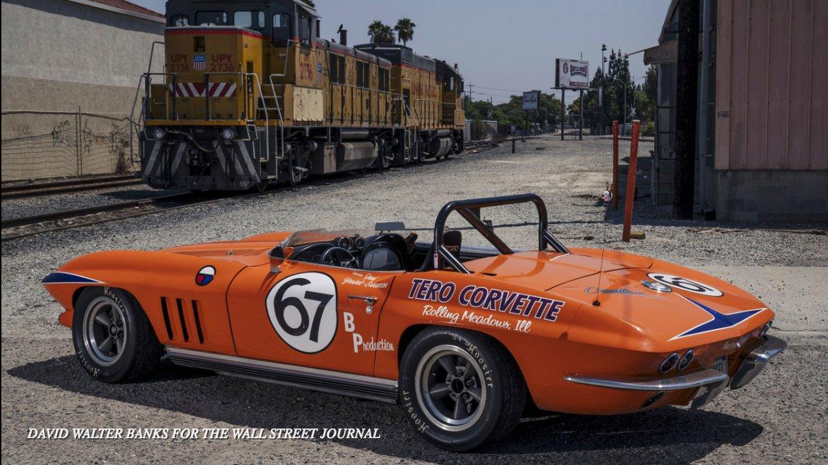 A Vintage Monster Truck A Corvette Racing Car Nicknamed Nuclear