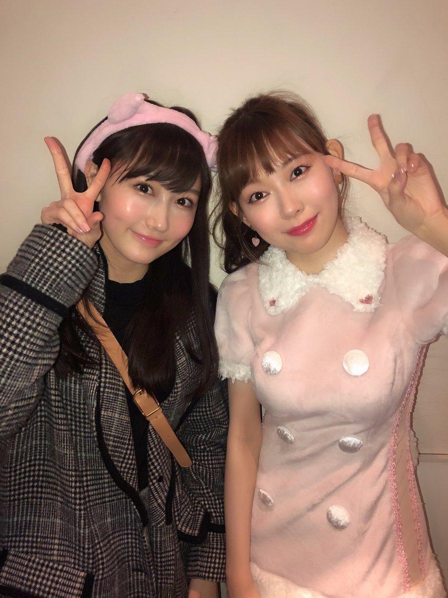 渡辺美優紀と矢倉楓子のツーショットwwwwwwww