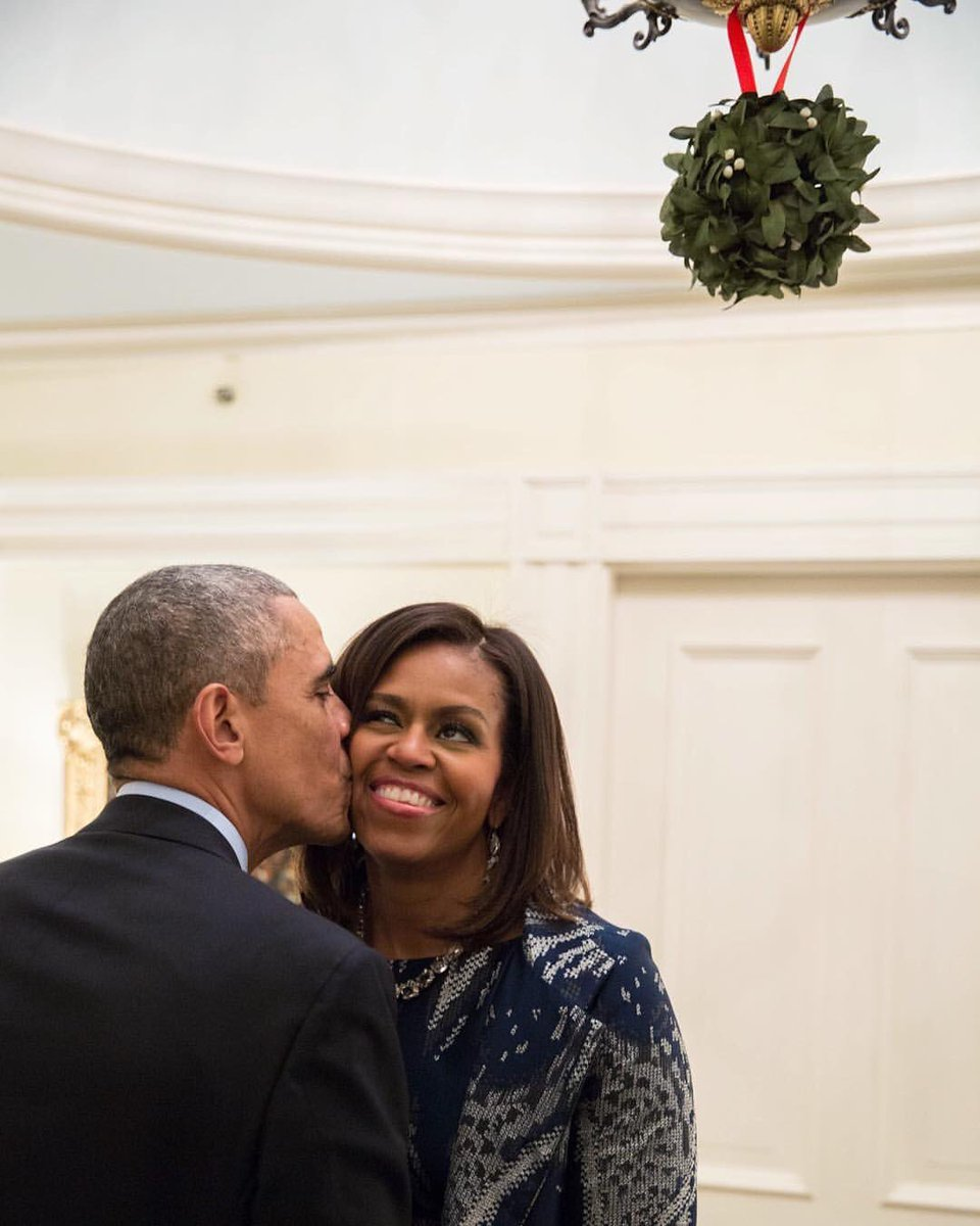 Enjoy the holiday season with the ones you love. Michelle and I wish you a very Merry Christmas! https://t.co/LKLqlYfFUw