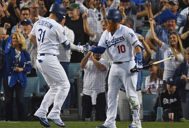 Dodgers Video: Justin Turner, Kenley Jansen, Joc Pederson And Dave Roberts Wish Fans… https://t.co/p2ijdiigyQ https://t.co/0joOEkhpPK