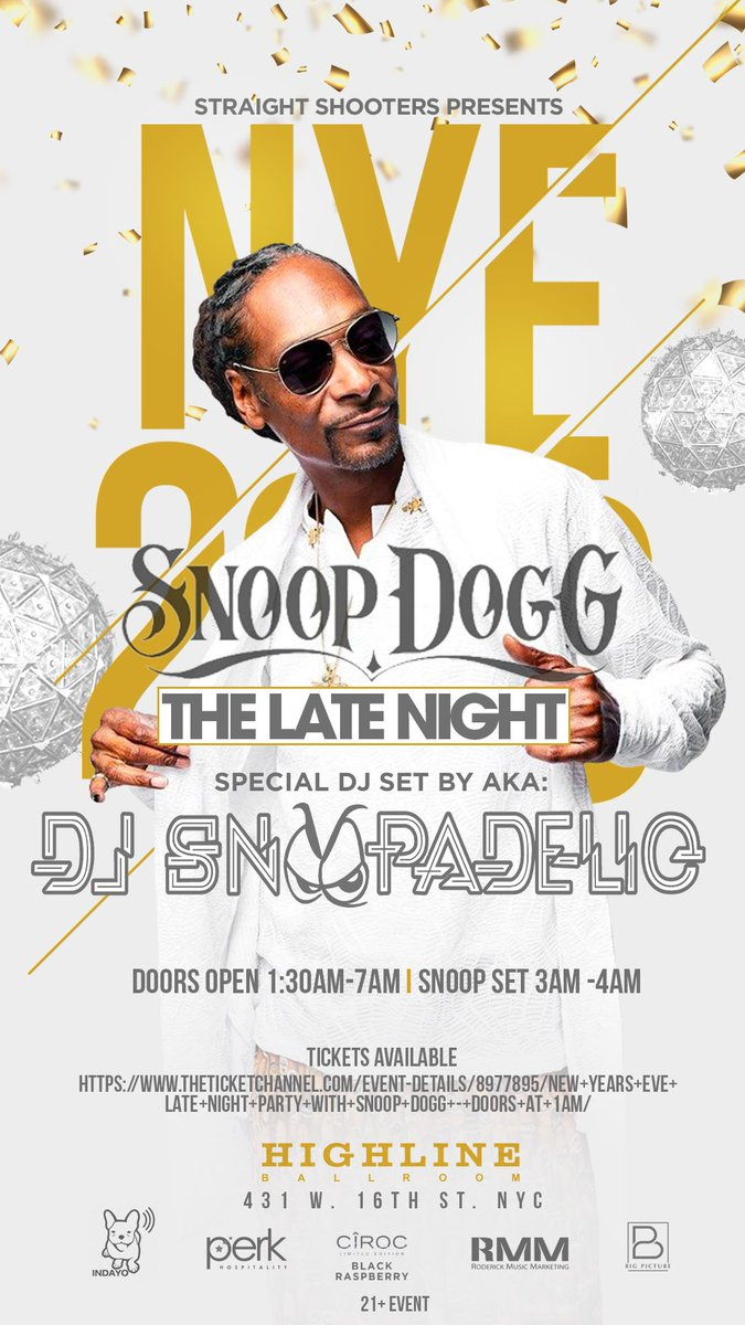 NYE wit #cirocblack ! I'll be spinning late night at 3am. come thru! https://t.co/c0djSNt5Rx