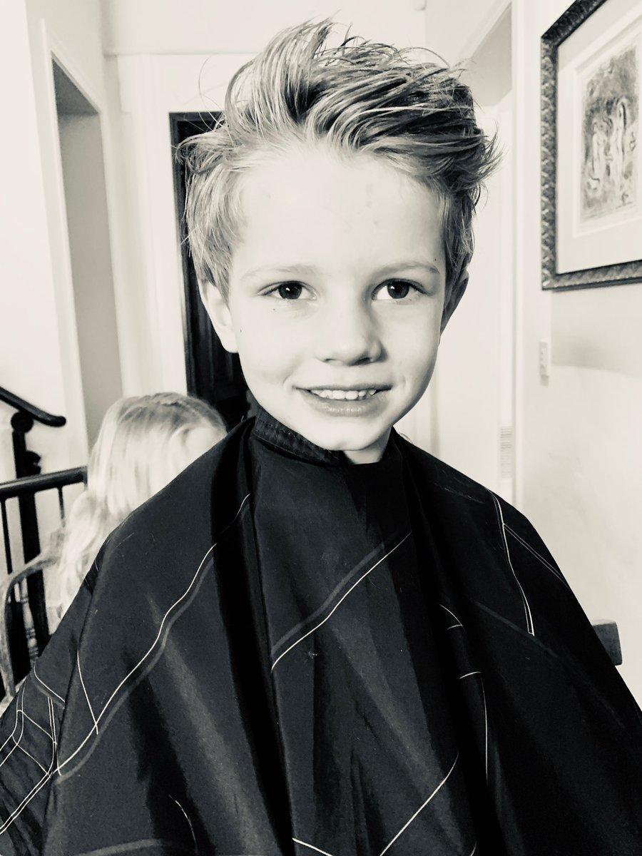 He really wanted short hair. It broke my heart a little, but we did it!! My little man ???? #ACEKNUTE https://t.co/Ujhg4jf6G0